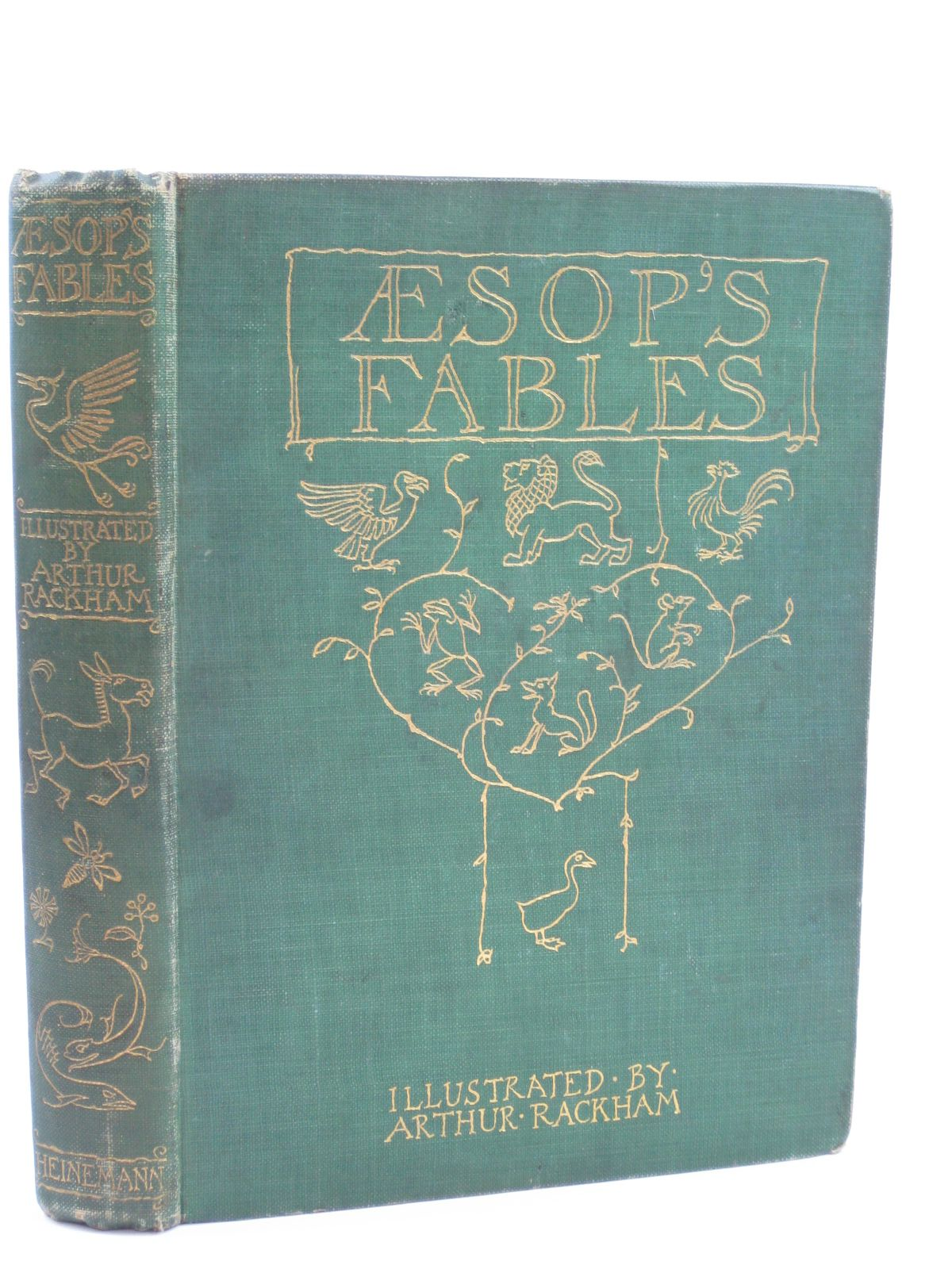Photo of AESOP'S FABLES written by Aesop, <br />Jones, V.S. Vernon illustrated by Rackham, Arthur published by William Heinemann (STOCK CODE: 1506622)  for sale by Stella & Rose's Books