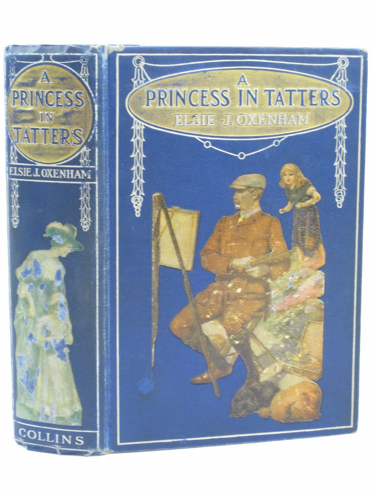 Photo of A PRINCESS IN TATTERS written by Oxenham, Elsie J. illustrated by Adams, Frank published by Collins Clear-Type Press (STOCK CODE: 1506624)  for sale by Stella & Rose's Books