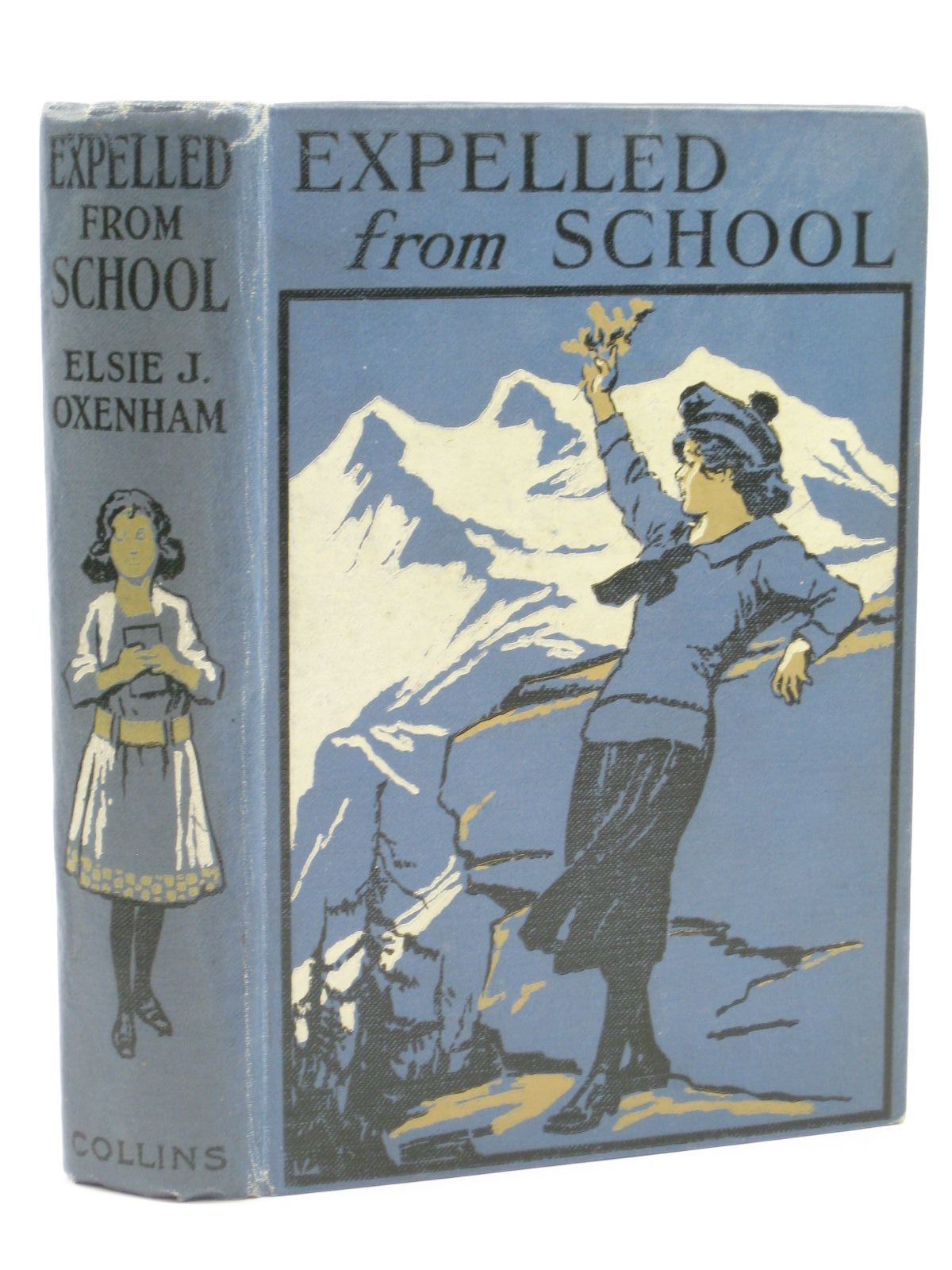 Photo of EXPELLED FROM SCHOOL written by Oxenham, Elsie J. illustrated by Prout, Victor published by Collins Clear-Type Press (STOCK CODE: 1506626)  for sale by Stella & Rose's Books