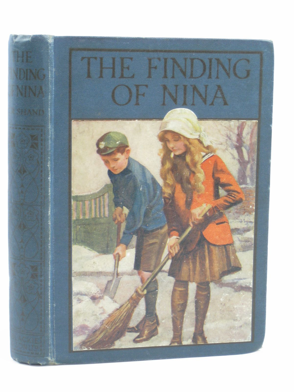 Photo of THE FINDING OF NINA written by Shand, Christine R. published by Blackie & Son Ltd. (STOCK CODE: 1506640)  for sale by Stella & Rose's Books