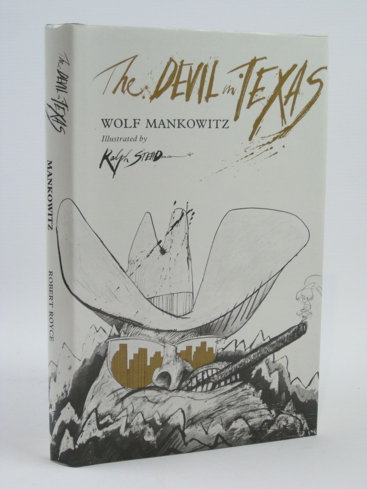 Photo of THE DEVIL IN TEXAS written by Mankowitz, Wolf illustrated by Steadman, Ralph published by Robert Royce Limited (STOCK CODE: 1506697)  for sale by Stella & Rose's Books