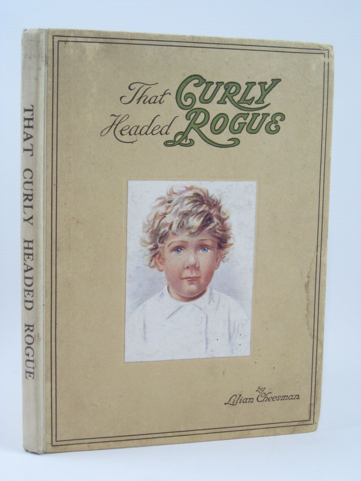 Photo of THAT CURLY HEADED ROGUE written by Cheesman, Lilian illustrated by Cheesman, Lilian published by Jarrolds (STOCK CODE: 1506734)  for sale by Stella & Rose's Books