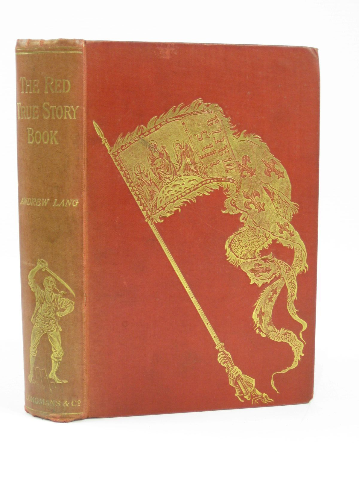 Photo of THE RED TRUE STORY BOOK written by Lang, Andrew illustrated by Ford, H.J. published by Longmans, Green & Co. (STOCK CODE: 1506754)  for sale by Stella & Rose's Books