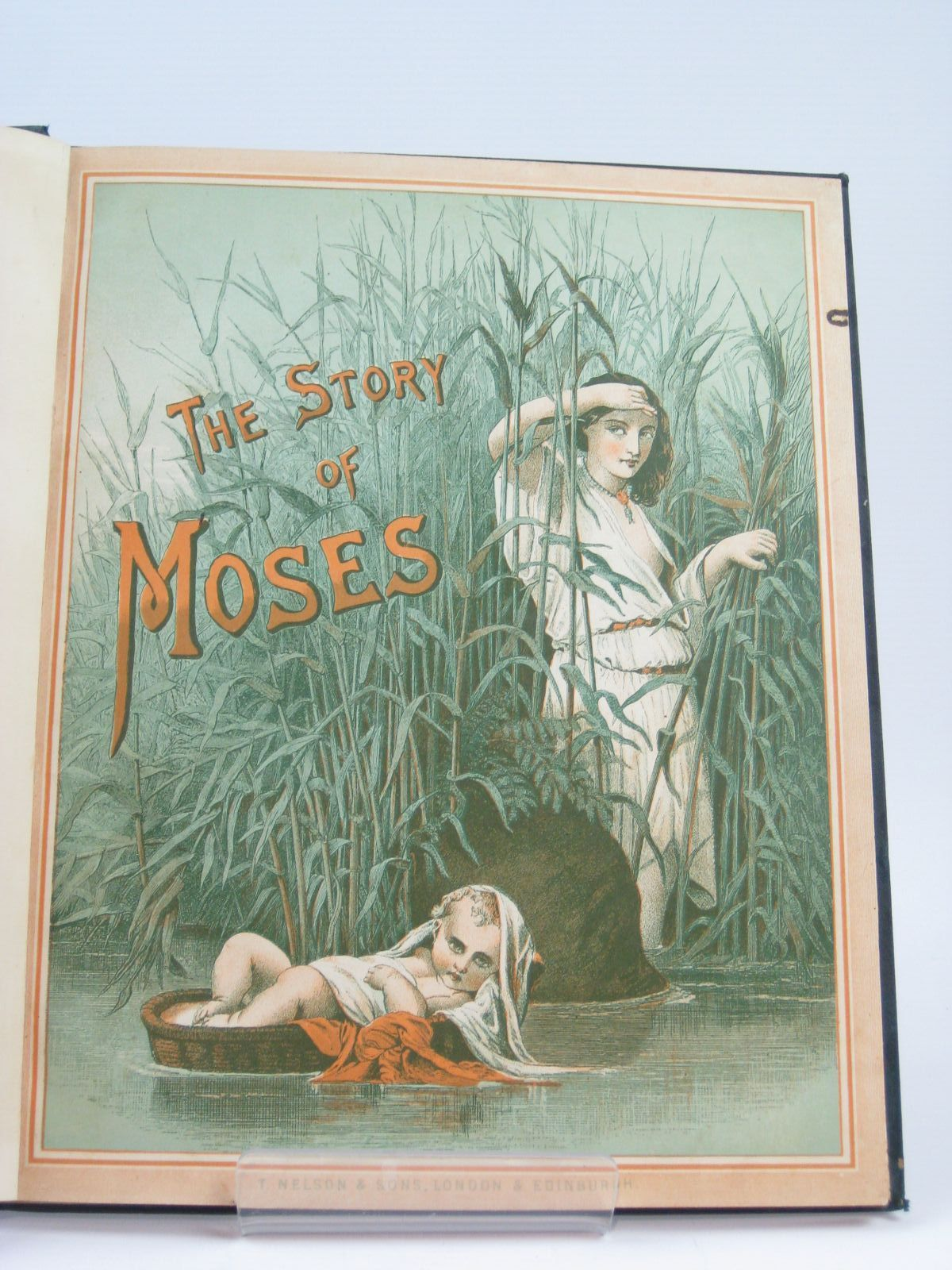 Photo of THE STORY OF MOSES, THE STORY OF RUTH, THE STORY OF SOLOMON published by T. Nelson & Sons (STOCK CODE: 1506755)  for sale by Stella & Rose's Books