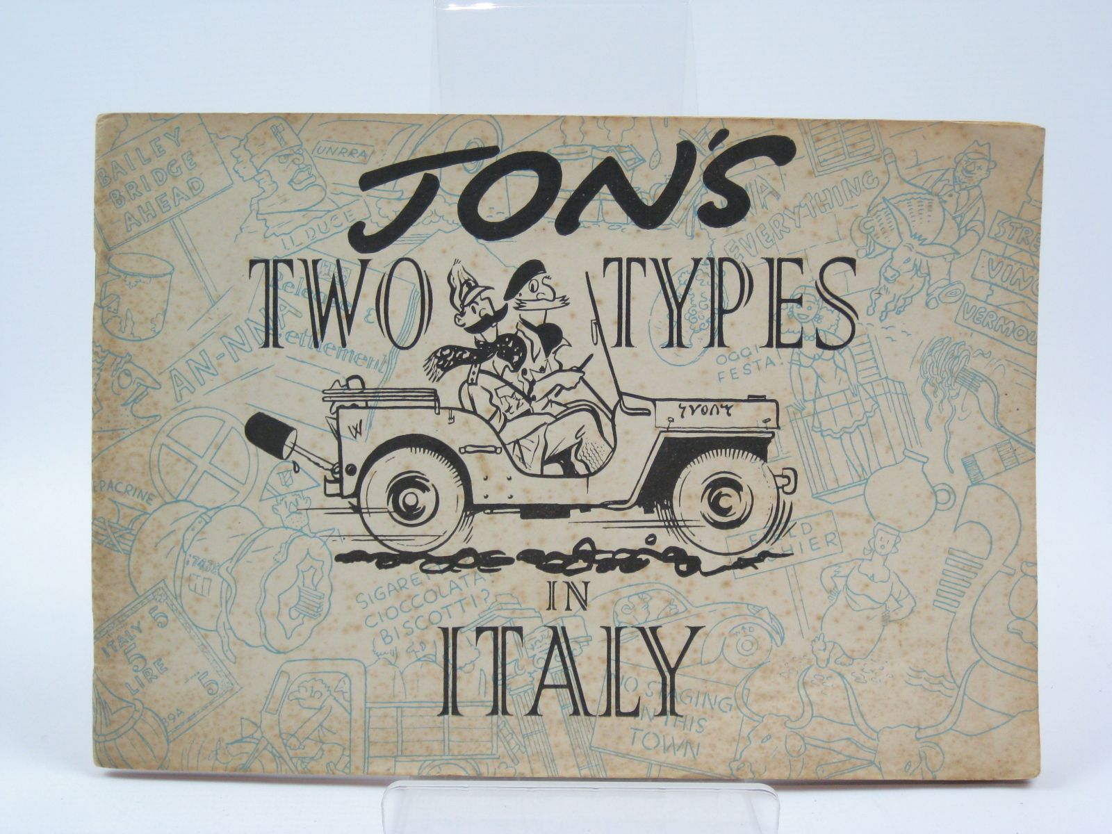 Photo of JON'S TWO TYPES IN ITALY written by Jon, (STOCK CODE: 1506767)  for sale by Stella & Rose's Books