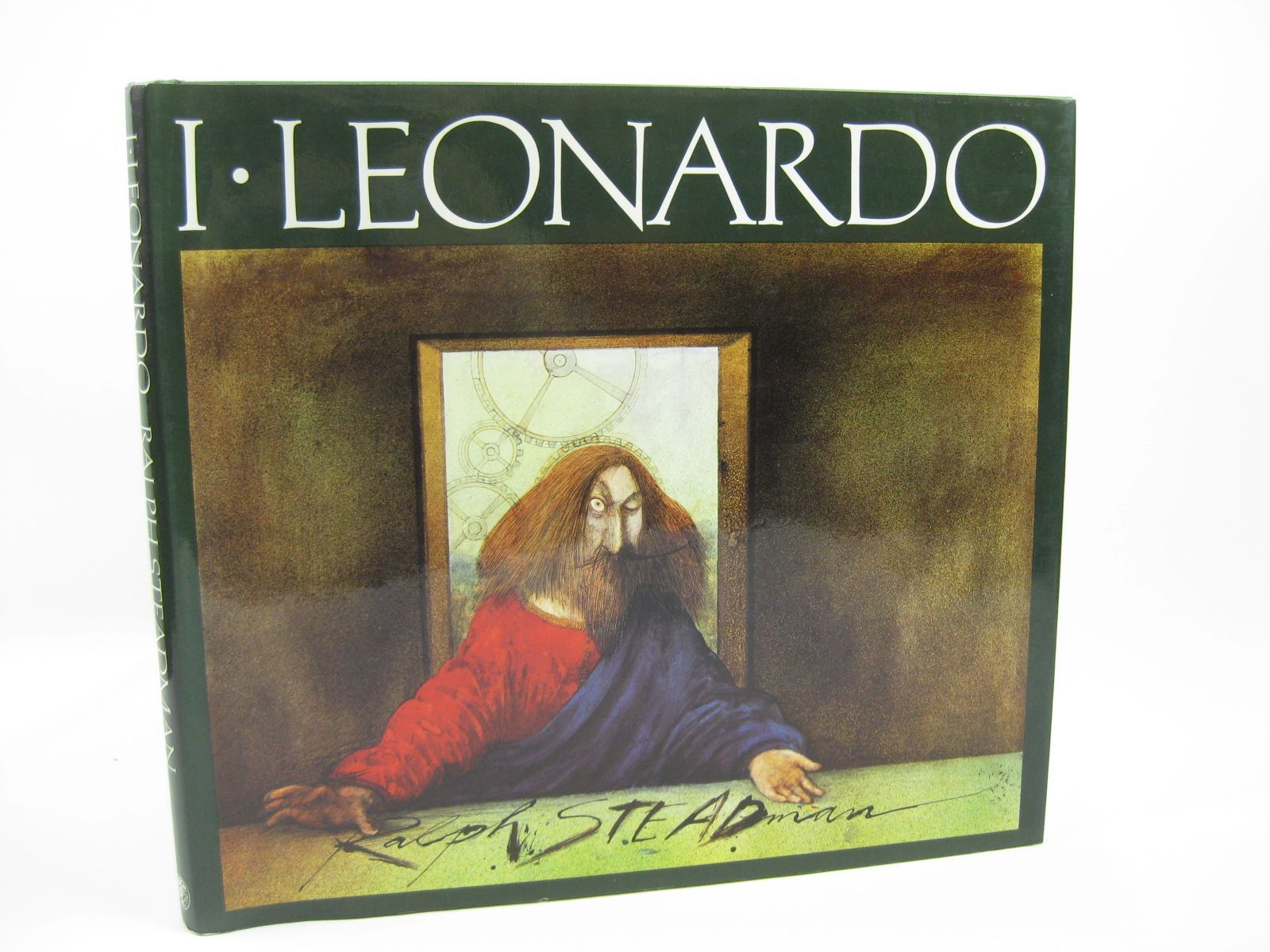 Photo of I LEONARDO written by Steadman, Ralph illustrated by Steadman, Ralph published by Jonathan Cape (STOCK CODE: 1506771)  for sale by Stella & Rose's Books