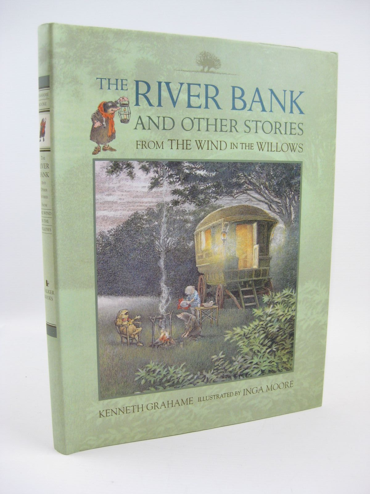 Photo of THE RIVER BANK AND OTHER STORIES FROM THE WIND IN THE WILLOWS written by Grahame, Kenneth illustrated by Moore, Inga published by Ted Smart (STOCK CODE: 1506776)  for sale by Stella & Rose's Books
