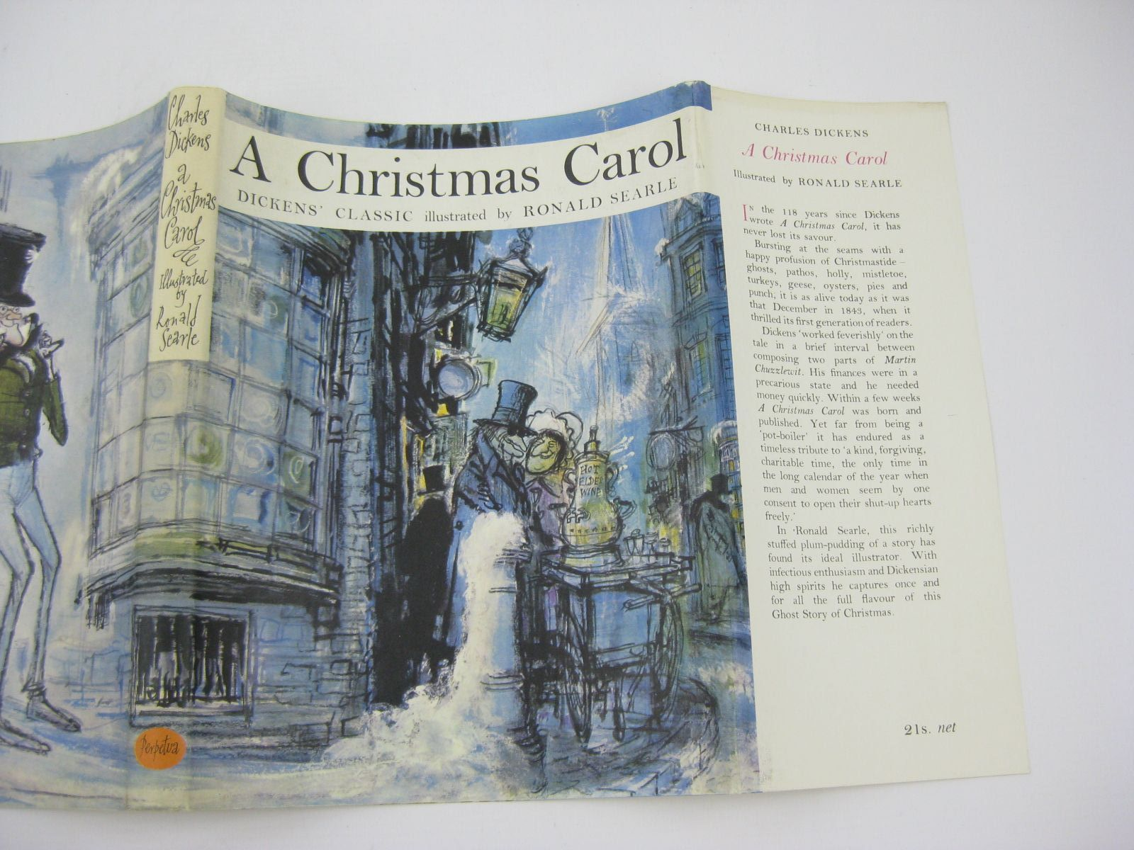 photo of a christmas carol written by dickens charles illustrated by searle ronald published - When Was A Christmas Carol Published