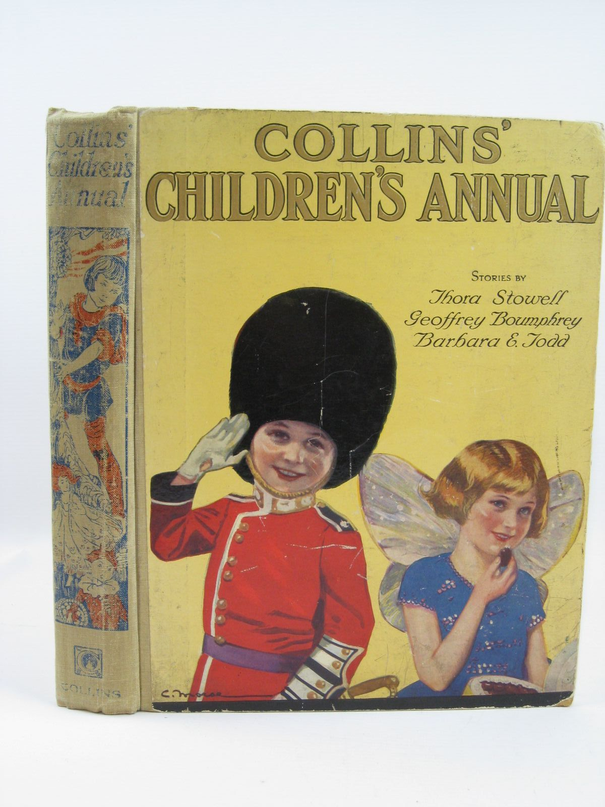 Photo of COLLINS' CHILDREN'S ANNUAL written by Rutley, Cecily M.<br />Todd, Barbara E.<br />Royce, Marjory<br />Boumphrey, Geoffrey<br />Stowell, Thora<br />et al, illustrated by Anderson, Anne<br />Rountree, Harry<br />Paul, Phylis E.<br />Robinson, Charles<br />et al., published by Collins Clear-Type Press (STOCK CODE: 1506790)  for sale by Stella & Rose's Books