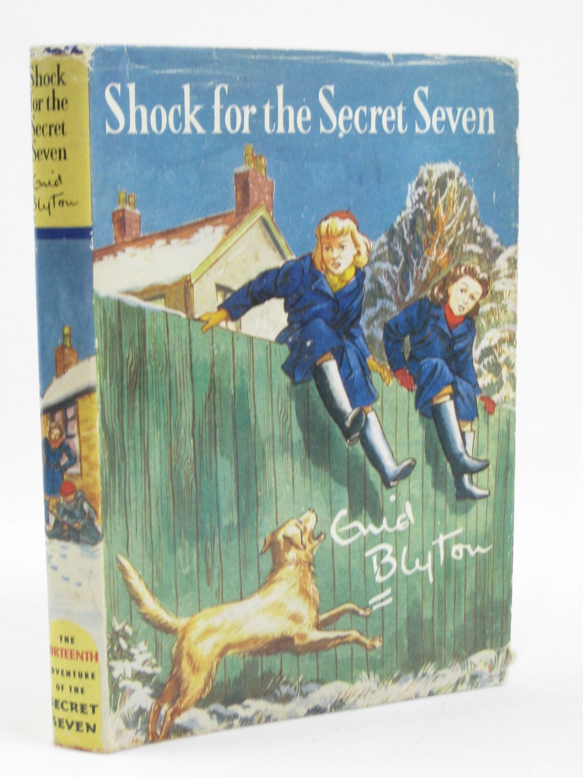 Photo of SHOCK FOR THE SECRET SEVEN written by Blyton, Enid illustrated by Sharrocks, Burgess published by Brockhampton Press (STOCK CODE: 1506795)  for sale by Stella & Rose's Books