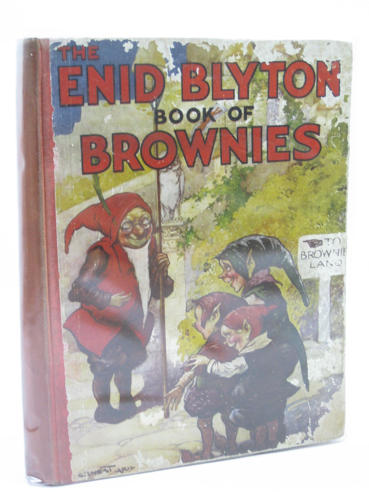 Photo of THE ENID BLYTON BOOK OF BROWNIES written by Blyton, Enid illustrated by Aris, Ernest A. published by George Newnes (STOCK CODE: 1506800)  for sale by Stella & Rose's Books