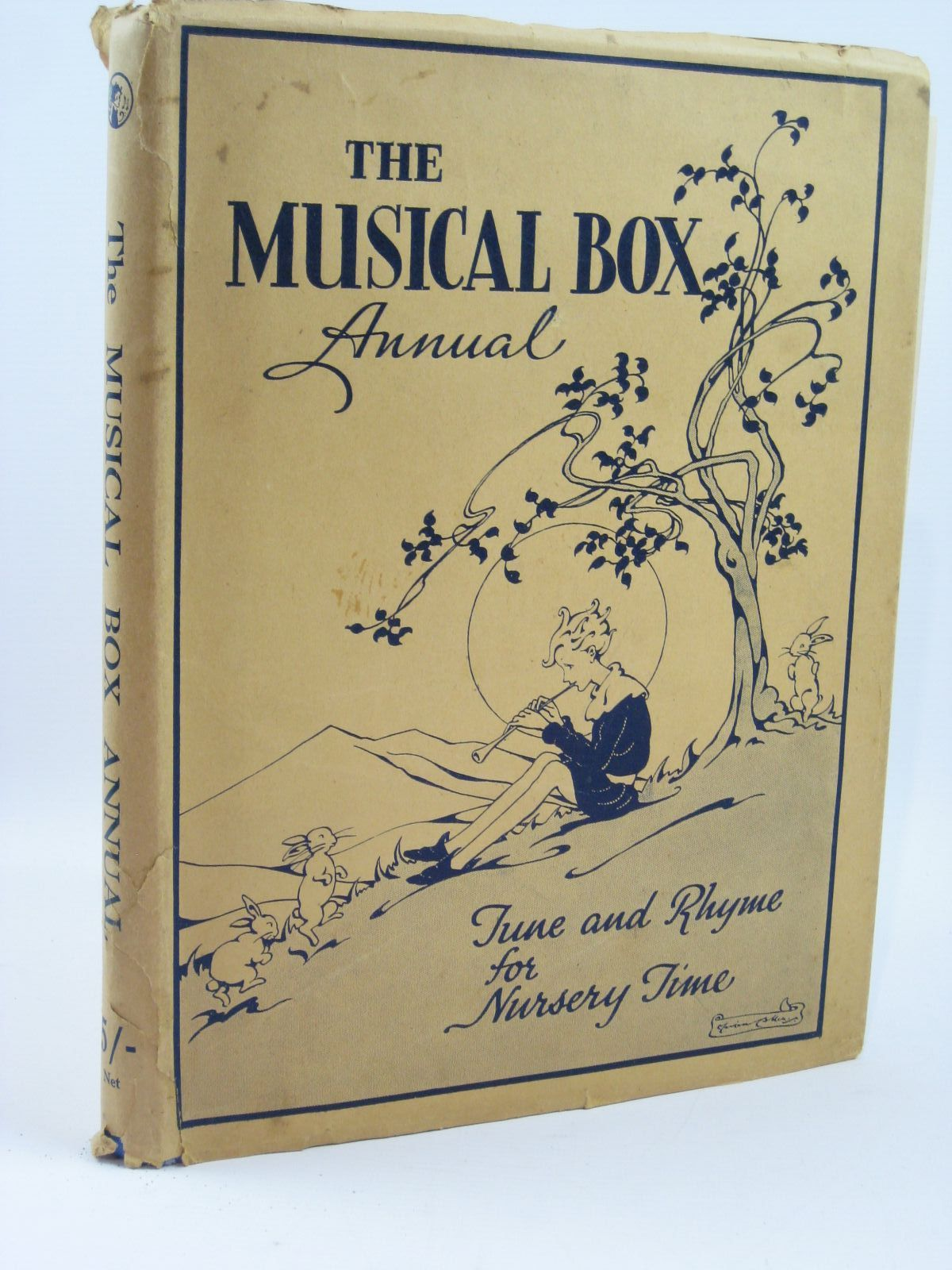Photo of THE MUSICAL-BOX ANNUAL published by The Fleetway House (STOCK CODE: 1506811)  for sale by Stella & Rose's Books