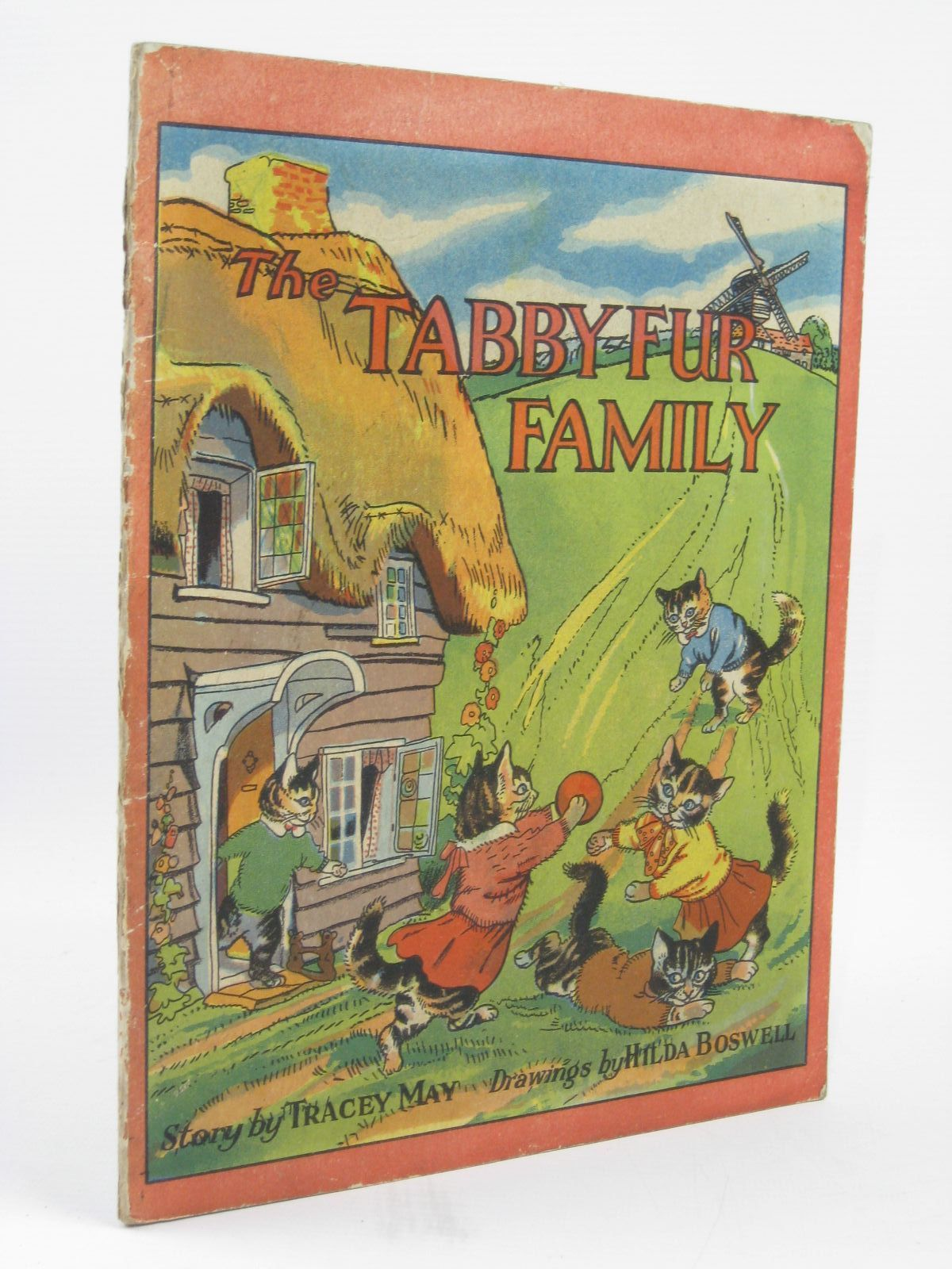 Photo of THE TABBY-FUR FAMILY written by May, Tracey illustrated by Boswell, Hilda published by R.A. Publishing Co. Ltd. (STOCK CODE: 1506828)  for sale by Stella & Rose's Books