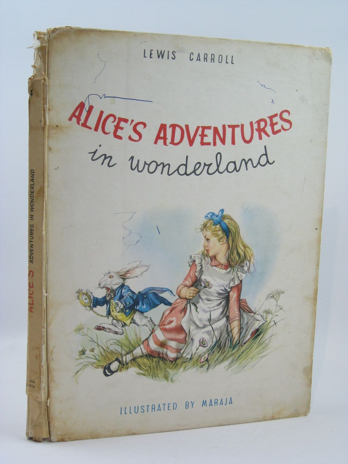 Photo of ALICE'S ADVENTURES IN WONDERLAND written by Carroll, Lewis illustrated by Maraja, published by W.H. Allen (STOCK CODE: 1506868)  for sale by Stella & Rose's Books
