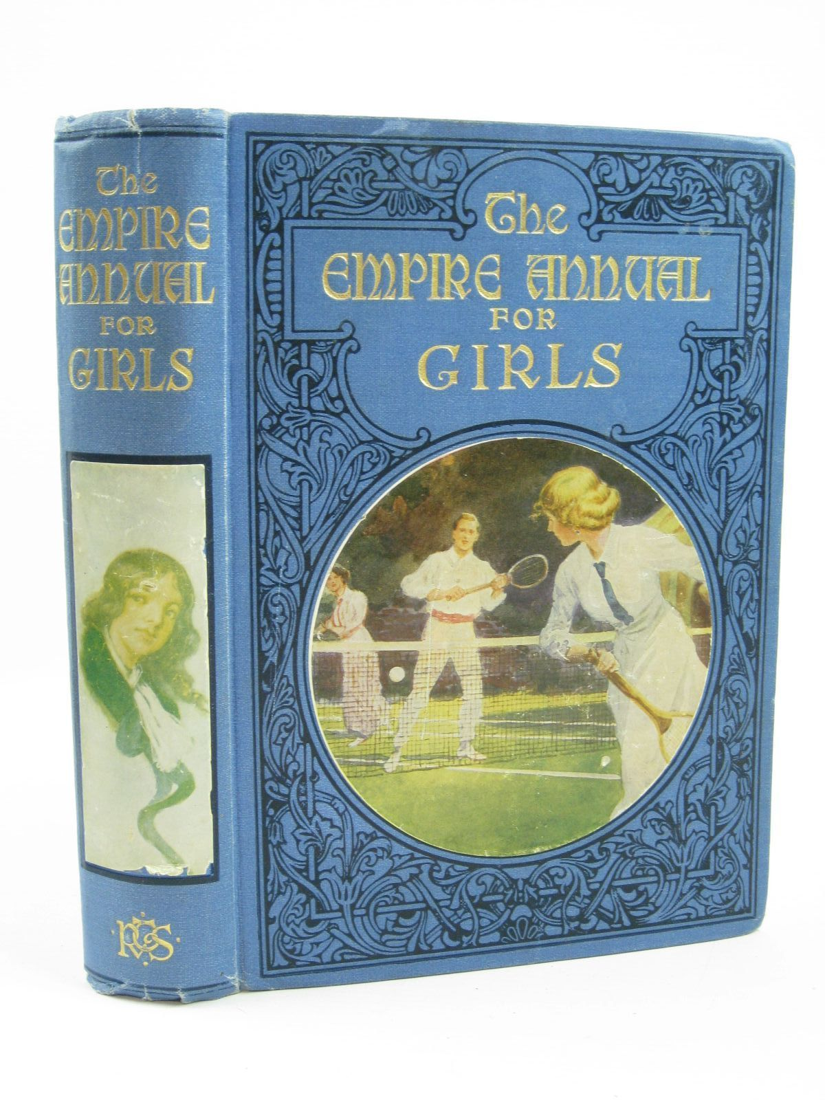 Photo of THE EMPIRE ANNUAL FOR GIRLS VOLUME FIFTEEN written by Haydon, A.L.<br />Talbot, Ethel<br />Methley, Violet M.<br />Chaundler, Christine<br />Pocock, Doris<br />et al, published by R.T.S. (STOCK CODE: 1506875)  for sale by Stella & Rose's Books