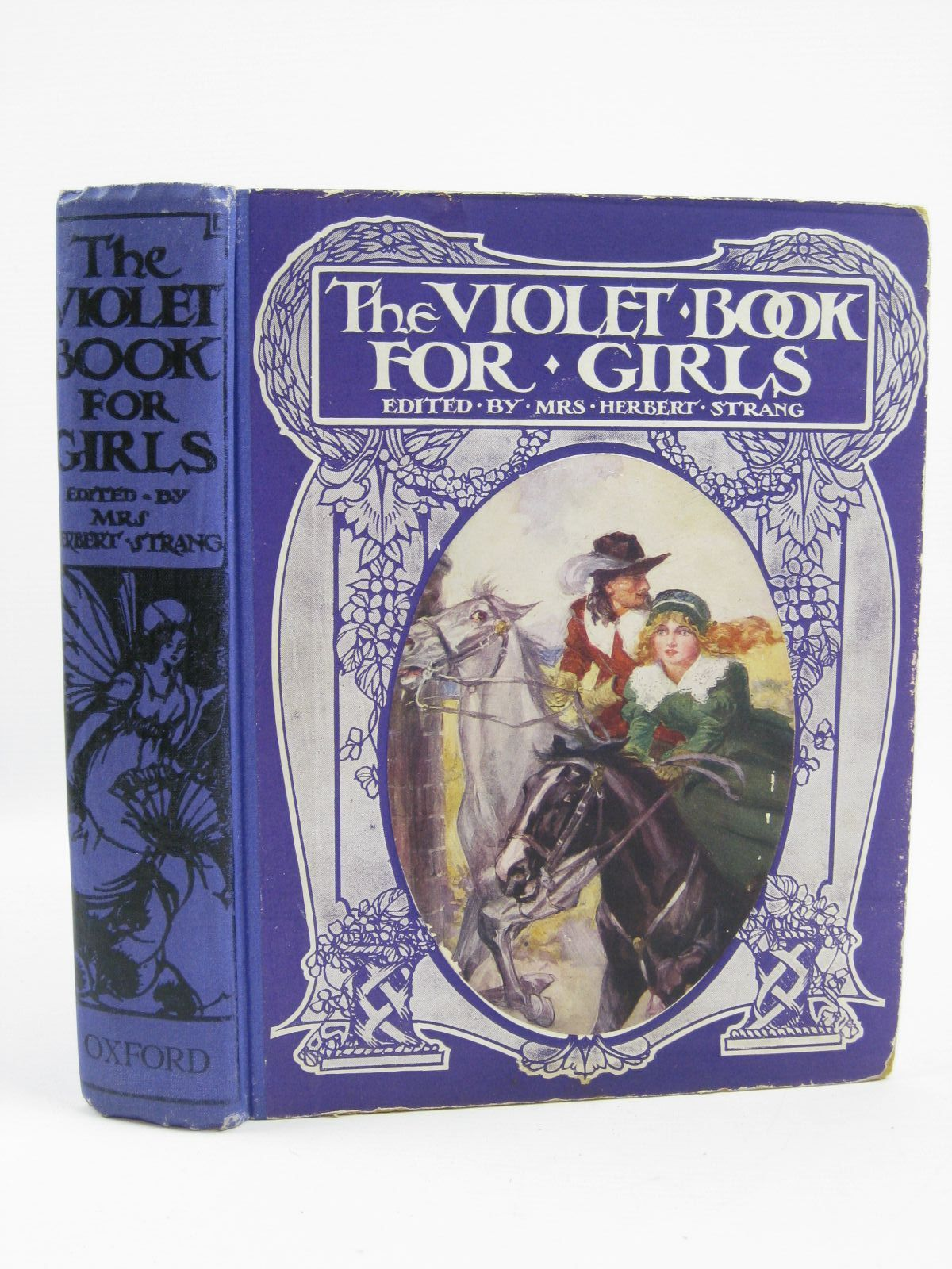 Photo of THE VIOLET BOOK FOR GIRLS written by Strang, Mrs. Herbert<br />Mansfield, Estrith E.<br />Brazil, Angela<br />et al,  illustrated by Robinson, T.H.<br />Robinson, Charles<br />et al.,  published by Oxford University Press, Humphrey Milford (STOCK CODE: 1506877)  for sale by Stella & Rose's Books