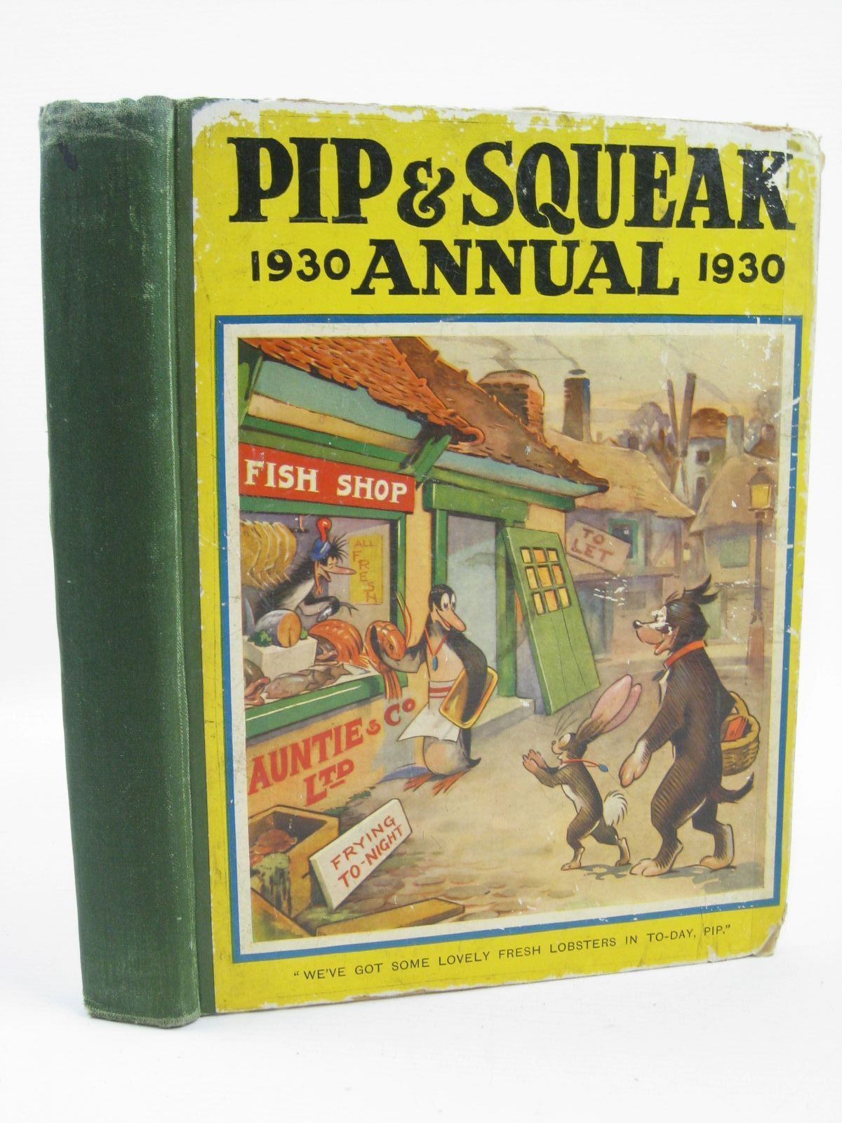Photo of PIP & SQUEAK ANNUAL 1930 illustrated by Brisley, Nina K.<br />Lumley, Savile<br />et al.,  published by Daily Mirror (STOCK CODE: 1506878)  for sale by Stella & Rose's Books