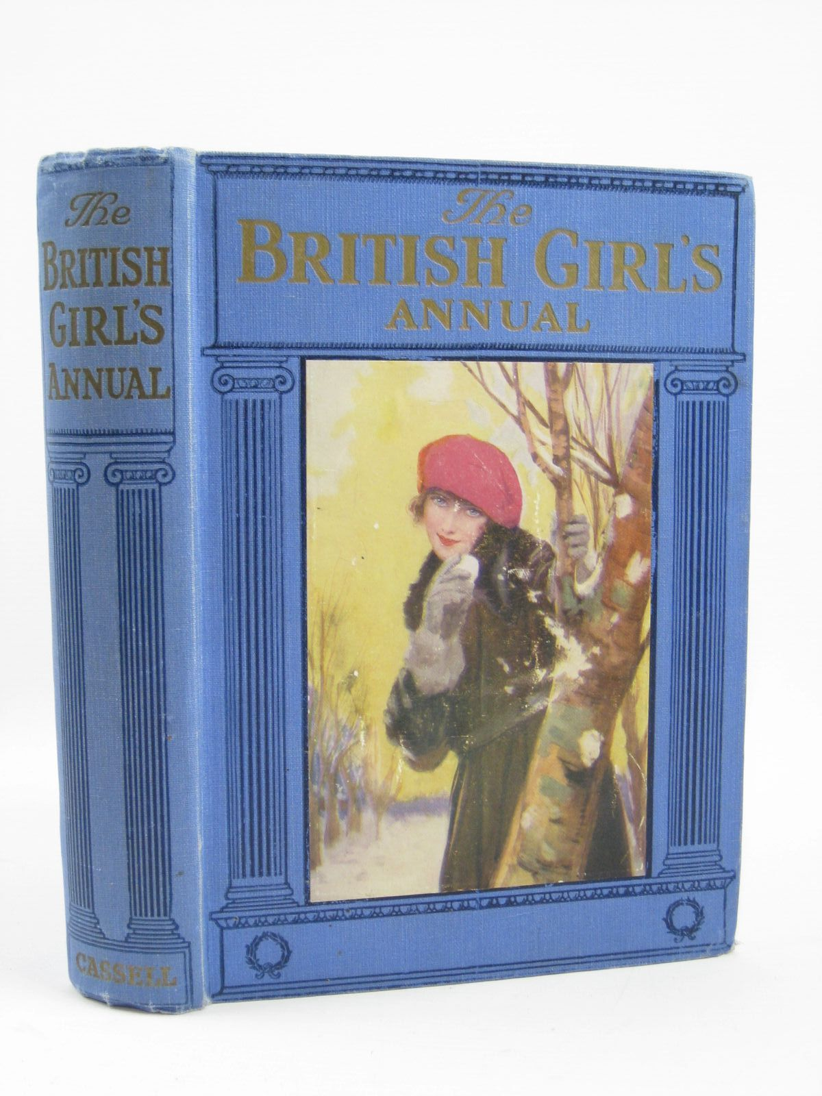 Photo of THE BRITISH GIRL'S ANNUAL written by Moore, Dorothea<br />Methley, Violet M.<br />Oxenham, Elsie J.<br />Talbot, Ethel<br />Wynne, May<br />et al,  illustrated by Brock, C.E.<br />Robinson, T.H.<br />Sutcliffe, Norman<br />et al.,  published by Cassell & Company Limited (STOCK CODE: 1506883)  for sale by Stella & Rose's Books