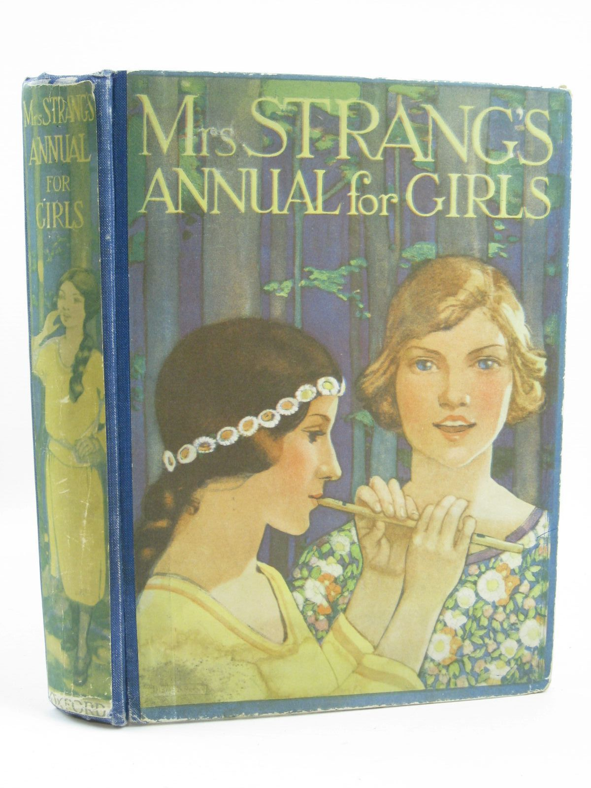 Photo of MRS. STRANG'S ANNUAL FOR GIRLS written by Francklyn, Phillippa<br />Stowell, Thora<br />Bruce, Dorita Fairlie<br />Darch, Winifred<br />et al, illustrated by Elcock, Howard K.<br />Reeve, Mary Strange<br />Johnston, M.D.<br />Peart, M.A.<br />et al., published by Humphrey Milford, Oxford University Press (STOCK CODE: 1506885)  for sale by Stella & Rose's Books
