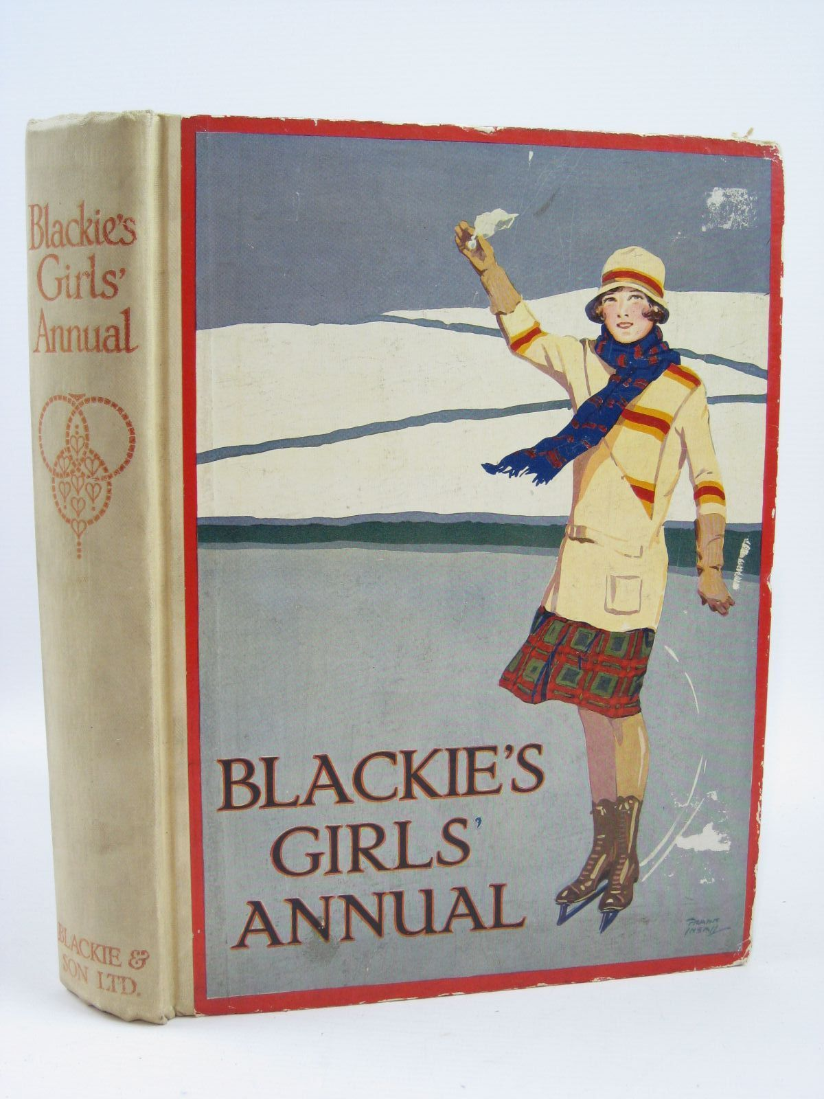 Photo of BLACKIE'S GIRLS' ANNUAL written by Joan, Natalie<br />Harrison, Florence<br />Bickersteth, Lucy<br />Middleton, Margaret<br />et al,  illustrated by Wiles, Frank E.<br />Harrison, Florence<br />Wilson, Radcliffe<br />Brock, C.E.<br />et al.,  published by Blackie & Son Ltd. (STOCK CODE: 1506890)  for sale by Stella & Rose's Books