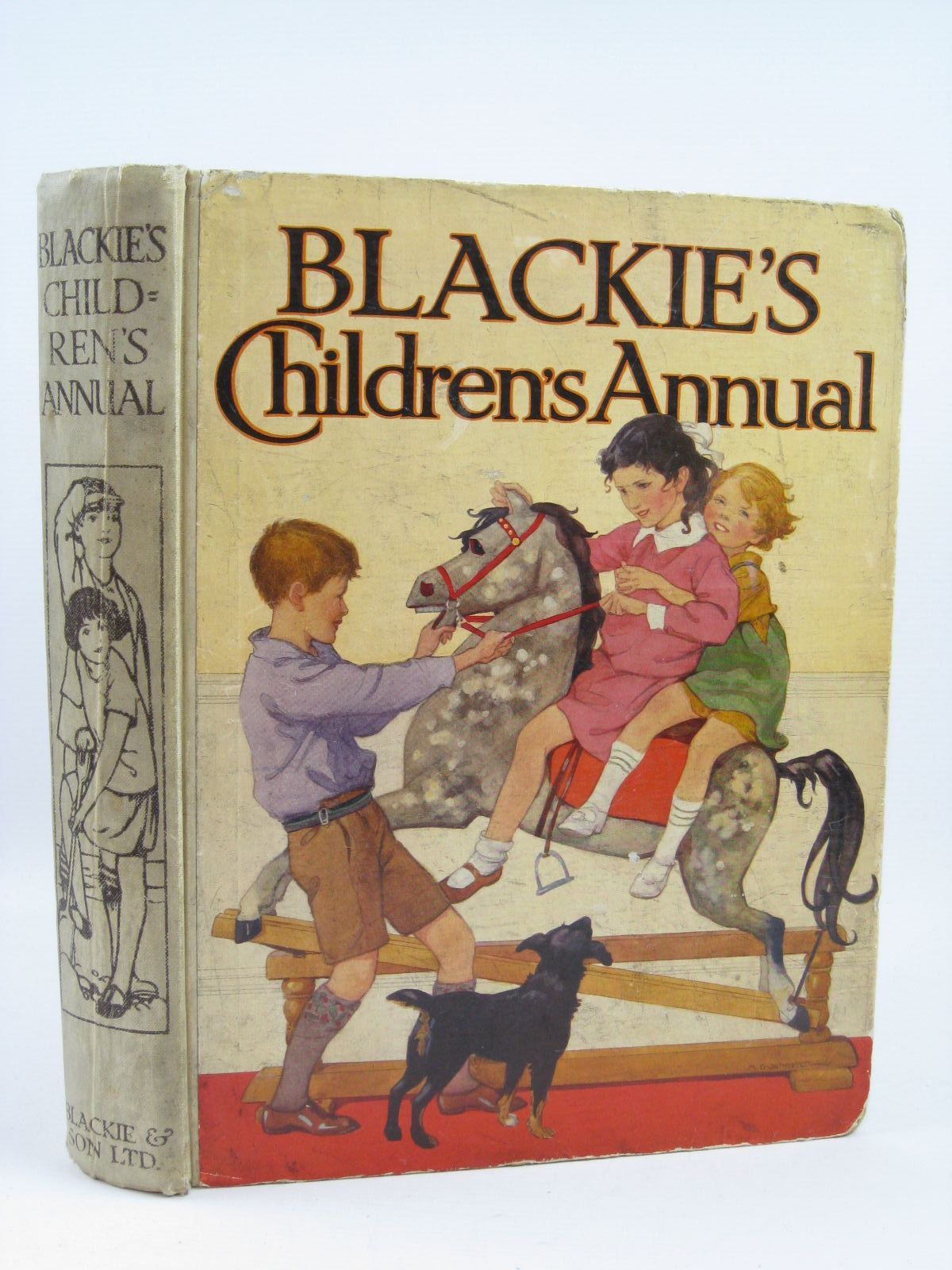 Photo of BLACKIE'S CHILDREN'S ANNUAL 27TH YEAR written by Barnes, Madeline<br />Simeon, Eleanor B.<br />Smith, Evelyn<br />Joan, Natalie<br />et al, illustrated by Bestall, Alfred<br />Cowham, Hilda<br />Rountree, Harry<br />Anderson, Florence Mary<br />Beaman, S.G. Hulme<br />et al., published by Blackie & Son Ltd. (STOCK CODE: 1506891)  for sale by Stella & Rose's Books