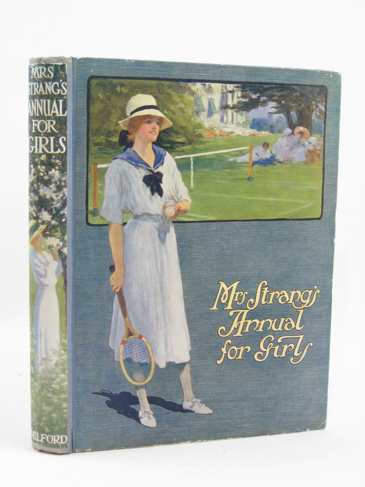 Photo of MRS STRANG'S ANNUAL FOR GIRLS written by Strang, Mrs. Herbert<br />Bruce, Dorita Fairlie<br />Chaundler, Christine<br />Massie, Alice<br />et al, illustrated by Lodge, Grace<br />Stratton, Helen<br />Brock, C.E.<br />et al., published by Oxford University Press, Humphrey Milford (STOCK CODE: 1506893)  for sale by Stella & Rose's Books