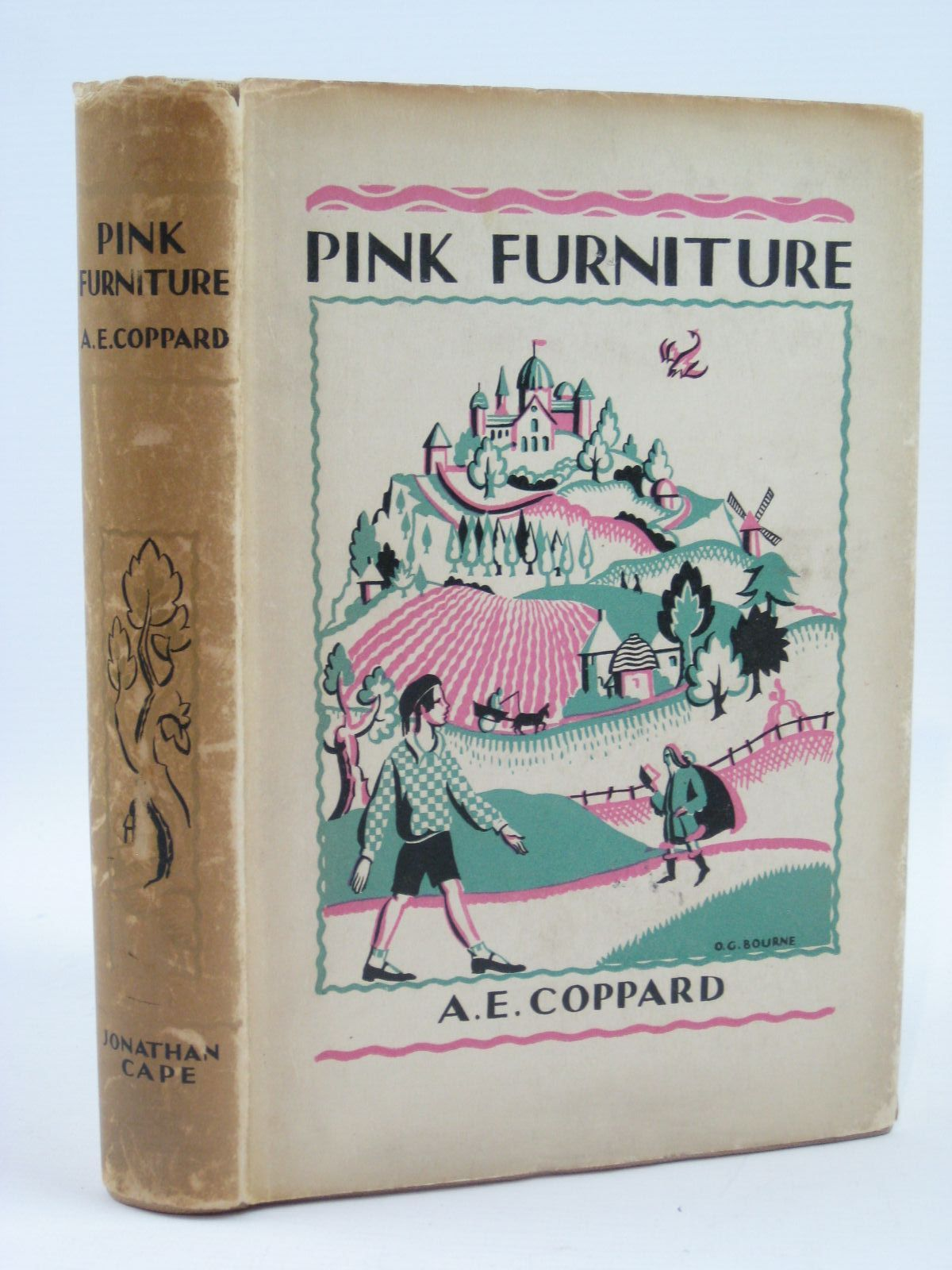 Photo of PINK FURNITURE written by Coppard, A.E. illustrated by Gurney, Nancy Bankart published by Jonathan Cape (STOCK CODE: 1506894)  for sale by Stella & Rose's Books