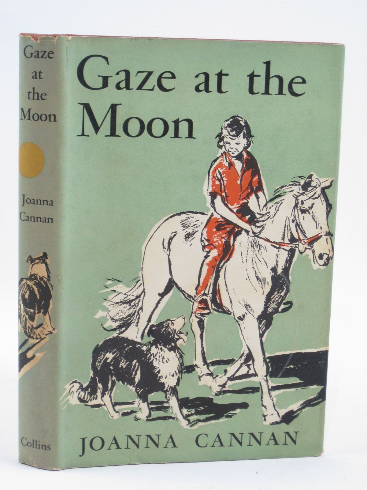 Photo of GAZE AT THE MOON written by Cannan, Joanna illustrated by Rose, Sheila published by Collins (STOCK CODE: 1506898)  for sale by Stella & Rose's Books