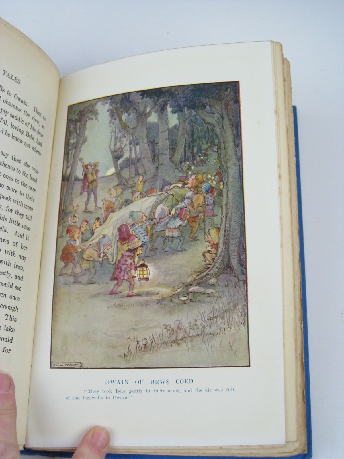 Photo of WONDER TALES OF ANCIENT WALES written by Henderson, Bernard<br />Jones, Stephen illustrated by Williamson, Doris published by Philip Allan & Co. (STOCK CODE: 1506905)  for sale by Stella & Rose's Books