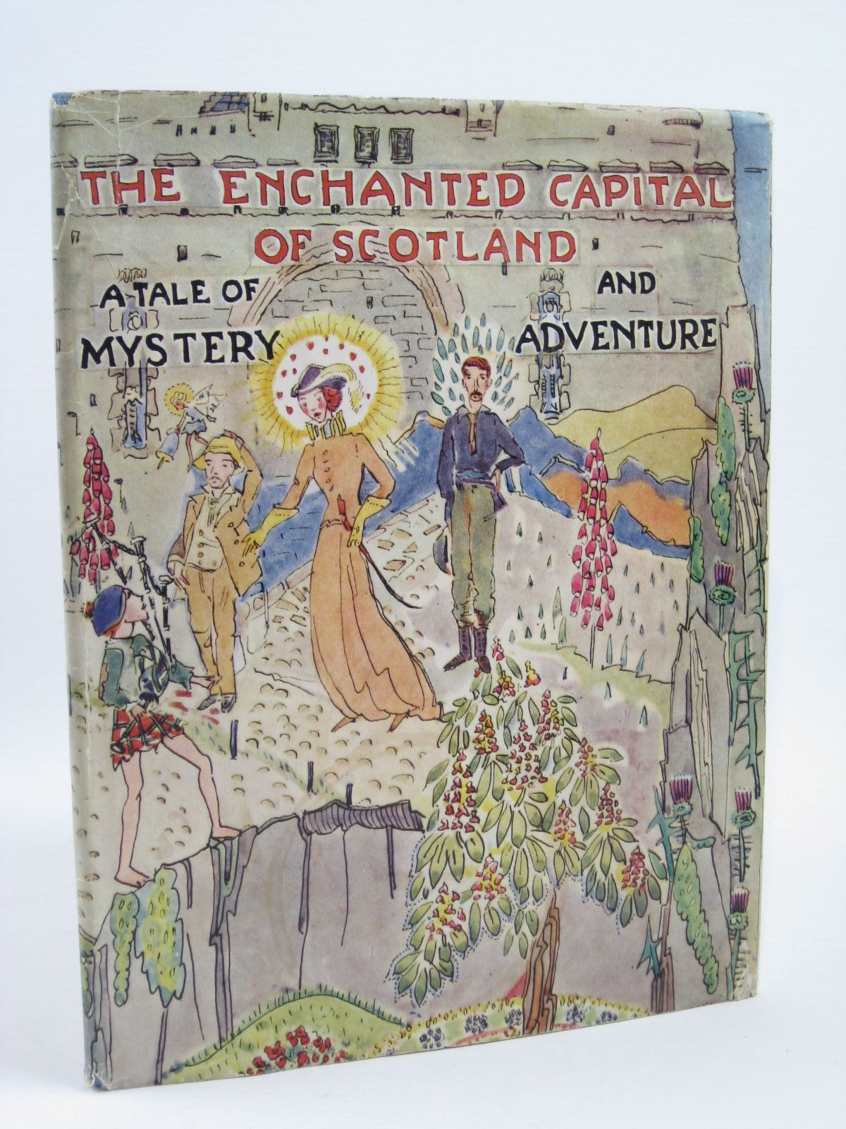 Photo of THE ENCHANTED CAPITAL OF SCOTLAND written by Fyfe, Noel G.<br />Steele, Isobel K.C. illustrated by King, Jessie M. published by Plaid Stationery Of Scotland Ltd. (STOCK CODE: 1506907)  for sale by Stella & Rose's Books