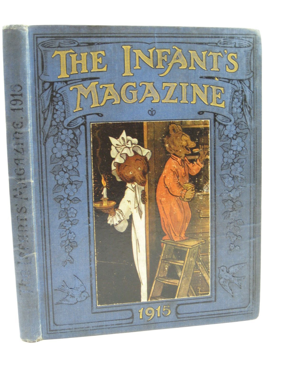 Photo of THE INFANTS' MAGAZINE FOR 1915 49TH VOL written by Lea, John<br />Leigh, Felix<br />et al, illustrated by Bowley, A.L.<br />Wain, Louis<br />Lambert, H.G.C. Marsh<br />Adams, Frank<br />et al., published by S.W. Partridge & Co. Ltd. (STOCK CODE: 1506908)  for sale by Stella & Rose's Books