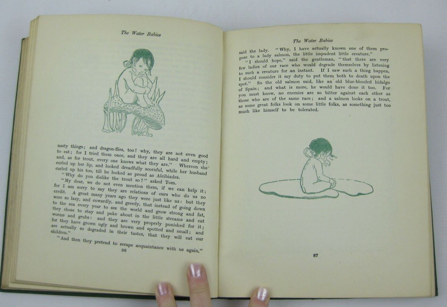 Photo of THE WATER BABIES written by Kingsley, Charles illustrated by Smith, Jessie Willcox published by Hodder & Stoughton (STOCK CODE: 1506910)  for sale by Stella & Rose's Books