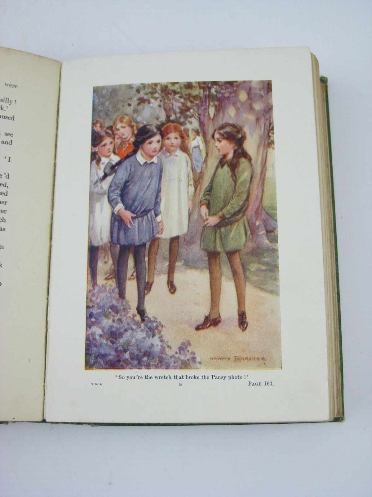 Photo of THE TUCK-SHOP GIRL written by Oxenham, Elsie J. illustrated by Earnshaw, Harold C. published by W. & R. Chambers Limited (STOCK CODE: 1506912)  for sale by Stella & Rose's Books