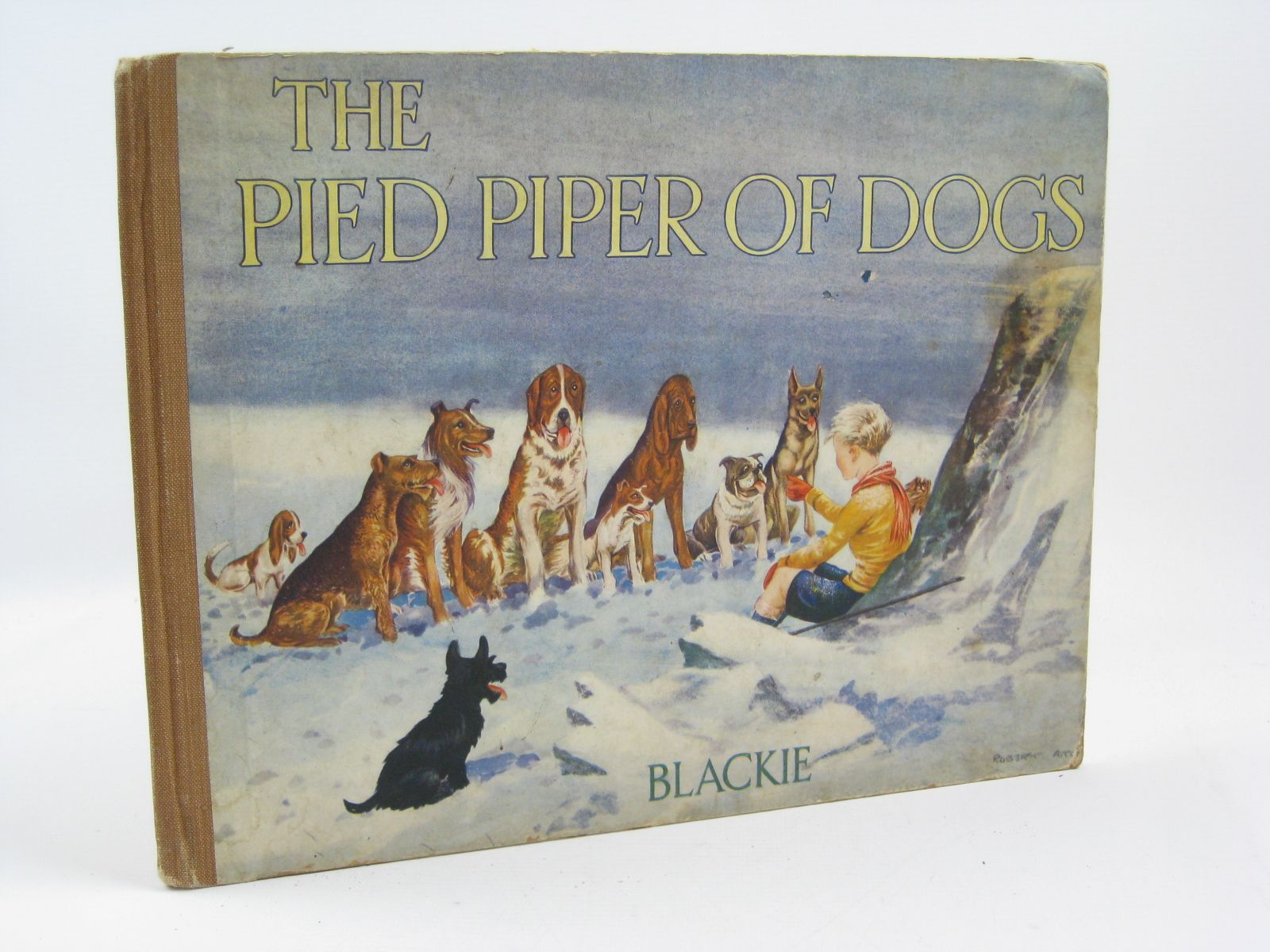 Photo of THE PIED PIPER OF DOGS