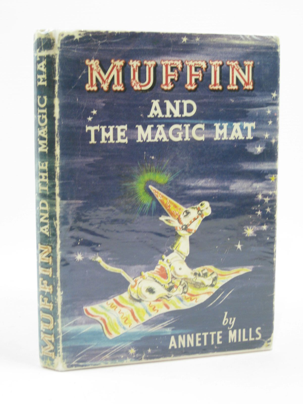 Photo of MUFFIN AND THE MAGIC HAT written by Mills, Annette illustrated by Blake, Molly published by University of London Press (STOCK CODE: 1506943)  for sale by Stella & Rose's Books