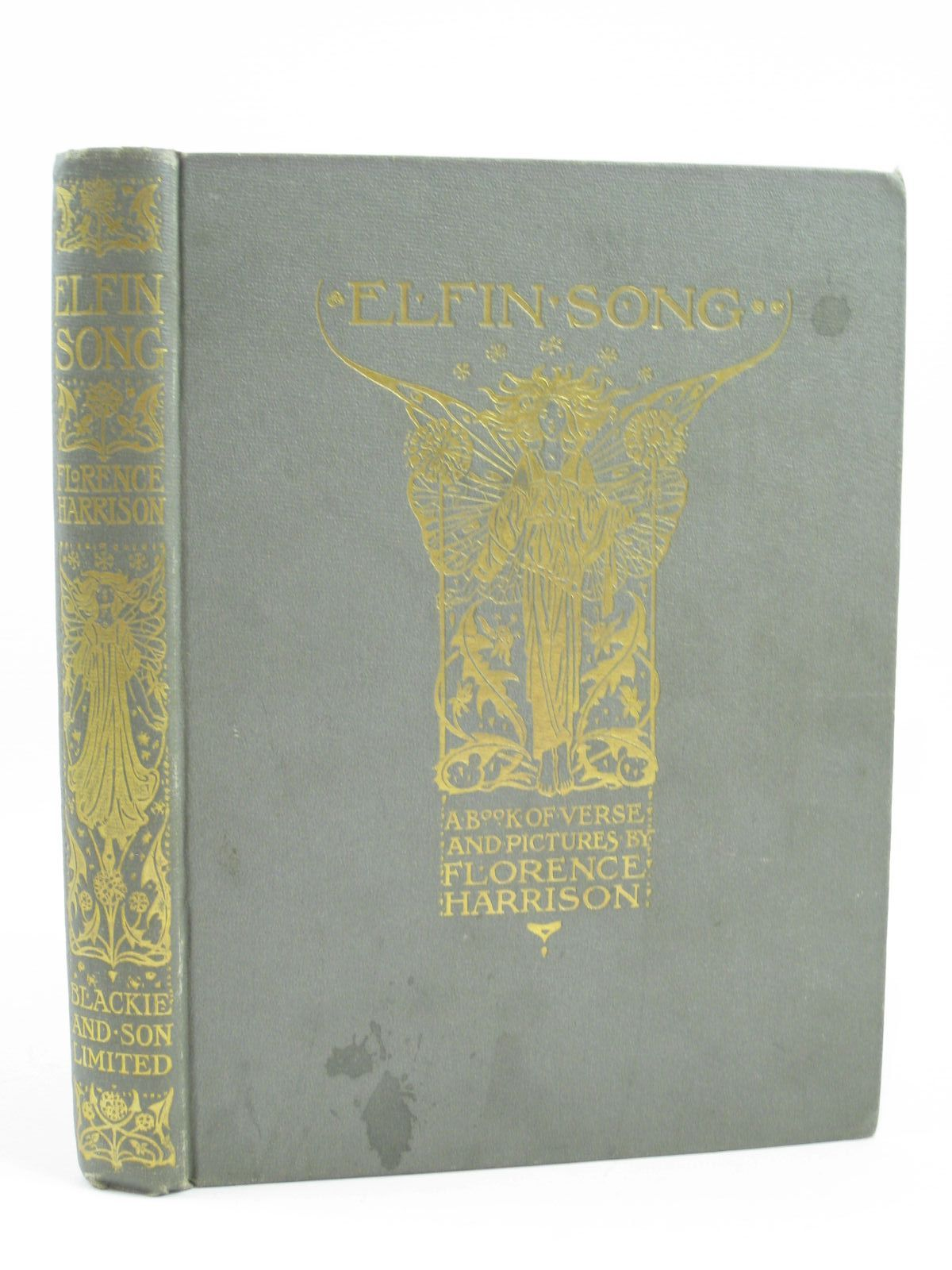 Photo of ELFIN SONG written by Harrison, Florence illustrated by Harrison, Florence published by Blackie & Son Ltd. (STOCK CODE: 1506974)  for sale by Stella & Rose's Books
