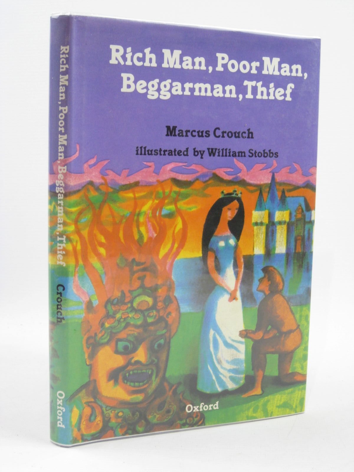 Photo of RICH MAN, POOR MAN, BEGGARMAN, THIEF written by Crouch, Marcus illustrated by Stobbs, William published by Oxford University Press (STOCK CODE: 1507025)  for sale by Stella & Rose's Books