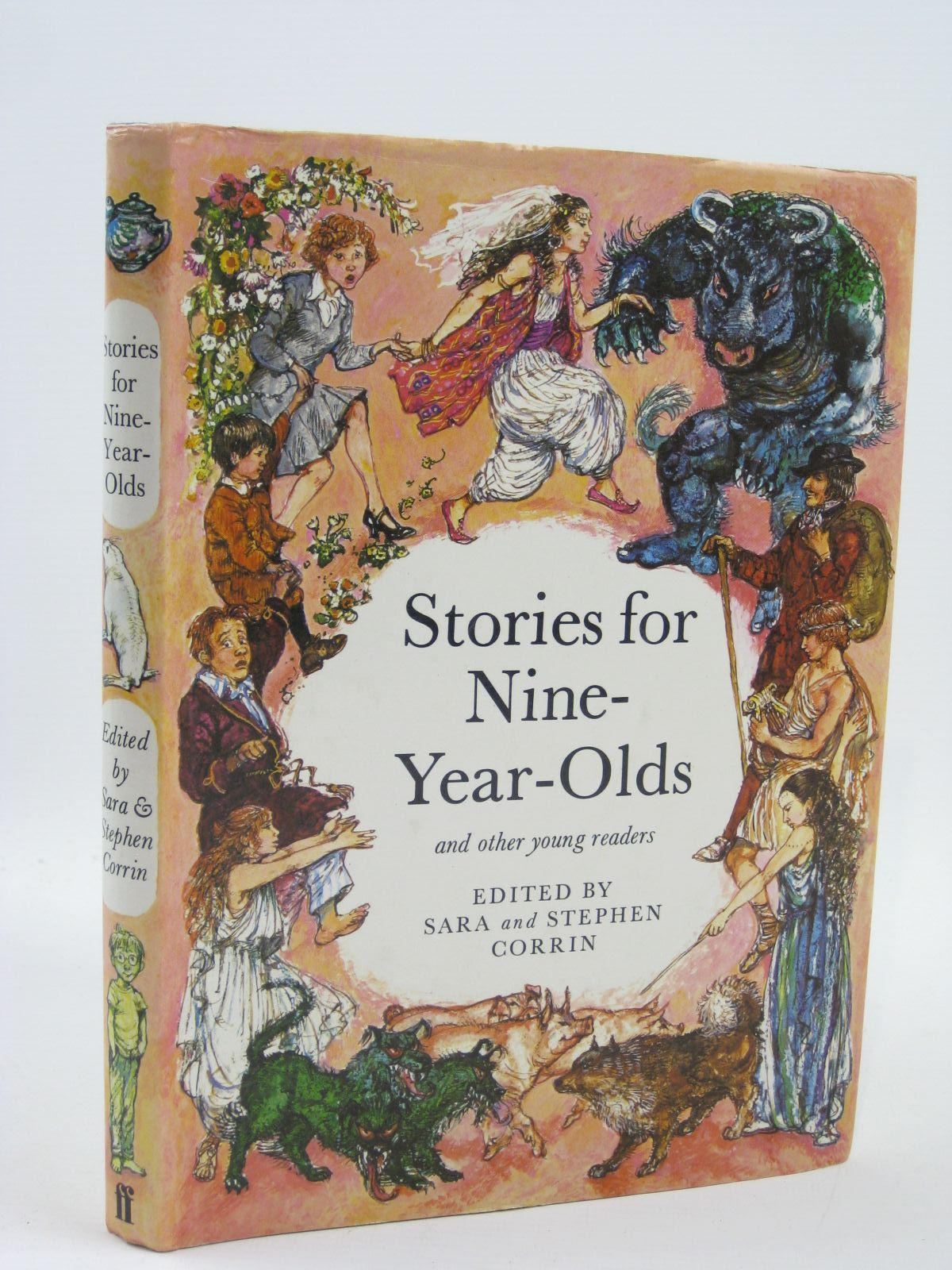 Photo of STORIES FOR NINE-YEAR-OLDS written by Corrin, Sara<br />Corrin, Stephen illustrated by Hughes, Shirley published by Faber & Faber (STOCK CODE: 1507026)  for sale by Stella & Rose's Books