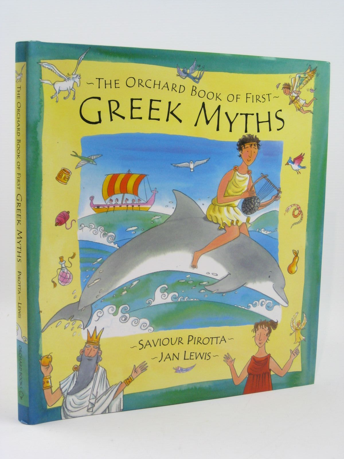 Photo of THE ORCHARD BOOK OF FIRST GREEK MYTHS written by Pirotta, Saviour illustrated by Lewis, Jan published by Orchard Books (STOCK CODE: 1507035)  for sale by Stella & Rose's Books
