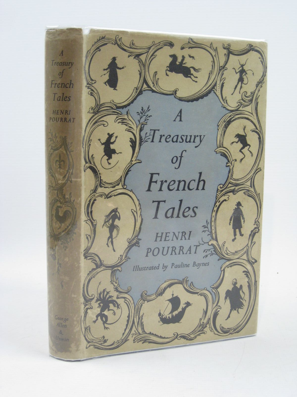 Photo of A TREASURY OF FRENCH TALES written by Pourrat, Henri illustrated by Baynes, Pauline published by George Allen & Unwin Ltd. (STOCK CODE: 1507049)  for sale by Stella & Rose's Books