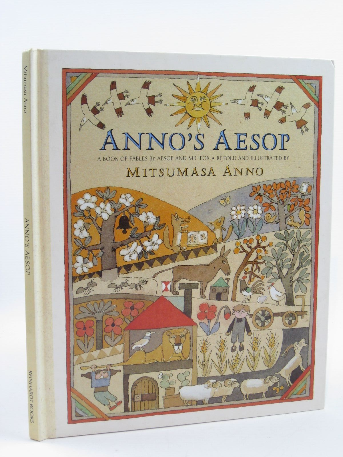 Photo of ANNO'S AESOP written by Anno, Mitsumasa illustrated by Anno, Mitsumasa published by Reinhardt Books (STOCK CODE: 1507051)  for sale by Stella & Rose's Books
