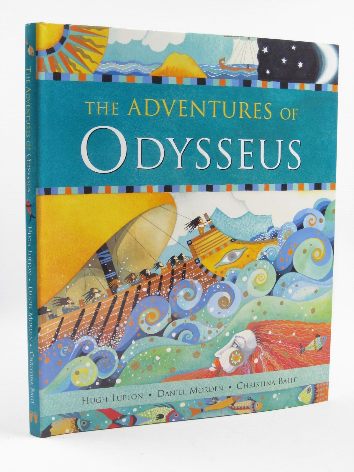 Photo of THE ADVENTURES OF ODYSSEUS written by Lupton, Hugh<br />Morden, Daniel illustrated by Balit, Christina published by Barefoot Books (STOCK CODE: 1507087)  for sale by Stella & Rose's Books