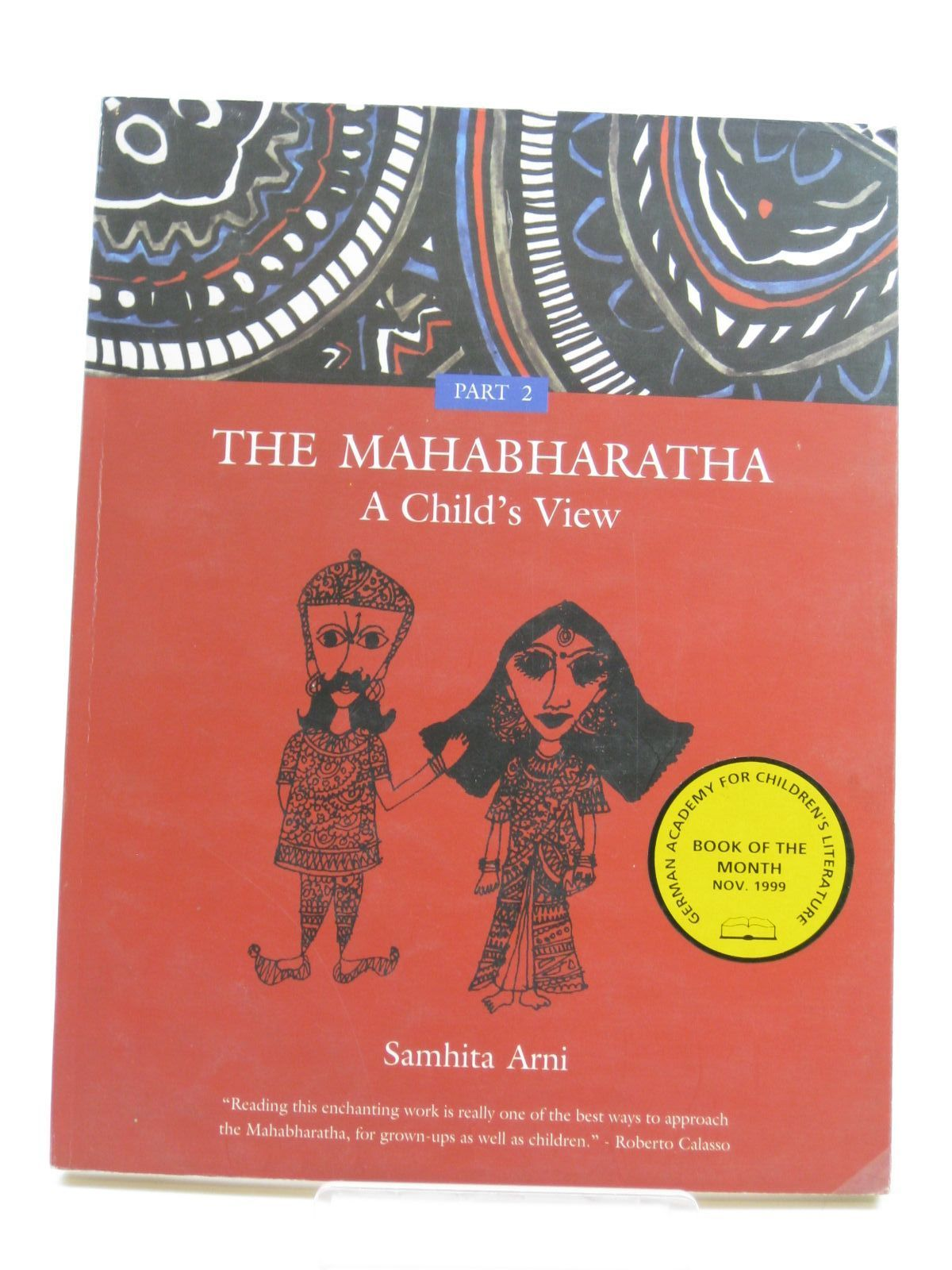 Photo of THE MAHABHARATHA A CHILD'S VIEW PART 2 written by Arni, Samhita illustrated by Arni, Samhita published by Tara Publishing (STOCK CODE: 1507091)  for sale by Stella & Rose's Books