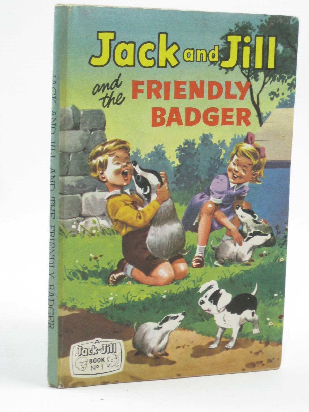 Photo of JACK AND JILL AND THE FRIENDLY BADGER published by Fleetway Publications Ltd. (STOCK CODE: 1507108)  for sale by Stella & Rose's Books