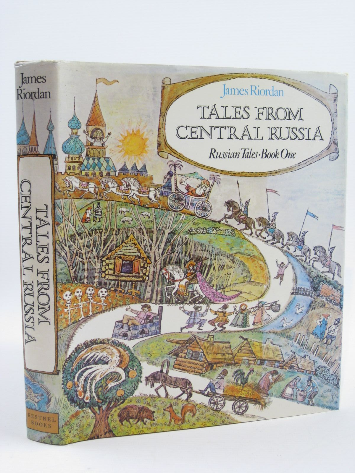 Photo of TALES FROM CENTRAL RUSSIA written by Riordan, James illustrated by Turska, Krystyna published by Kestrel Books (STOCK CODE: 1507114)  for sale by Stella & Rose's Books