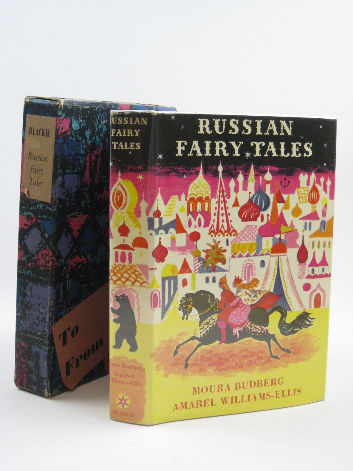 Photo of RUSSIAN FAIRY TALES written by Budberg, Moura<br />Williams-Ellis, Amabel illustrated by Nechamkin, Sarah published by Blackie (STOCK CODE: 1507116)  for sale by Stella & Rose's Books