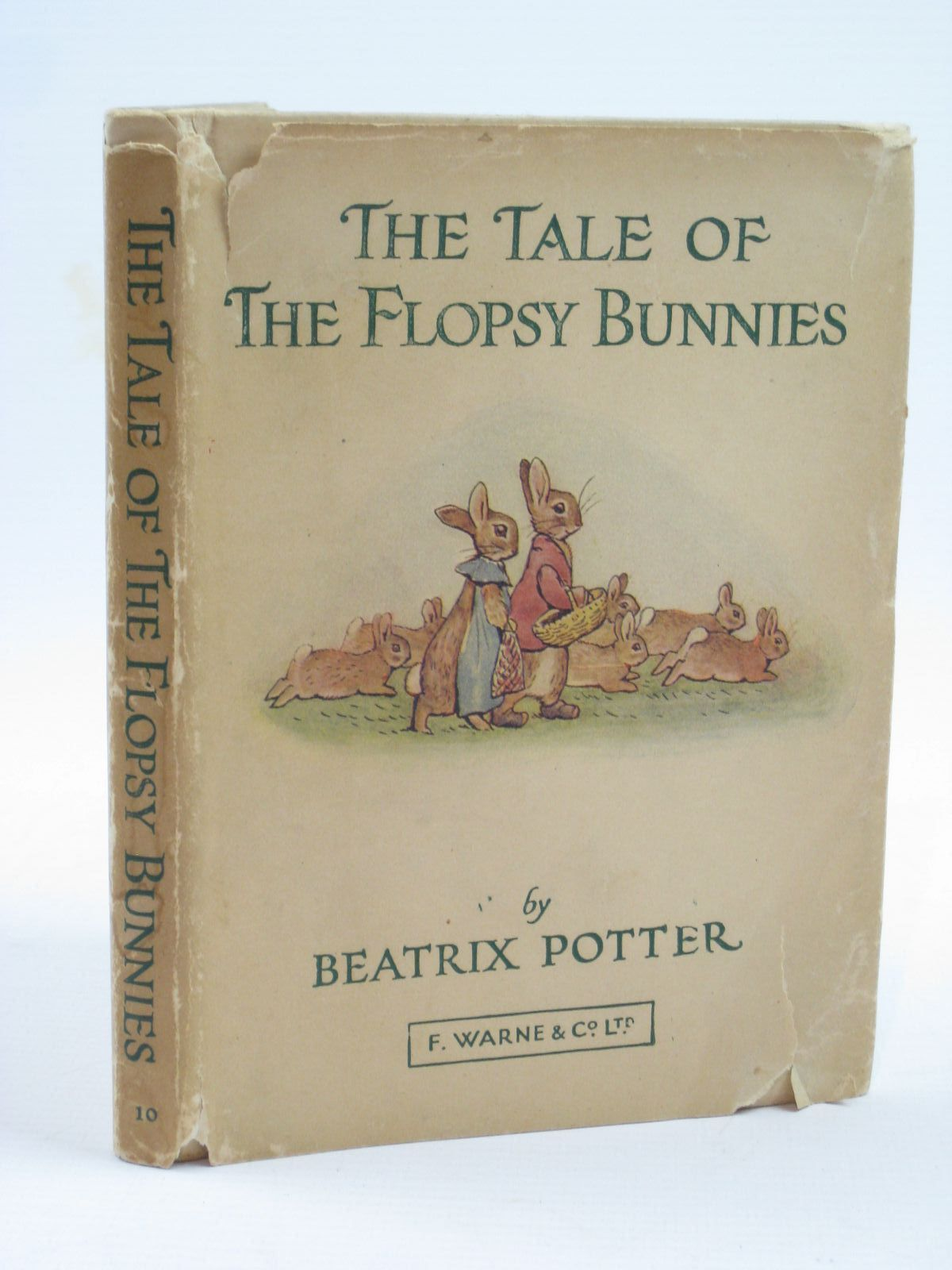 Photo of THE TALE OF THE FLOPSY BUNNIES written by Potter, Beatrix illustrated by Potter, Beatrix published by Frederick Warne & Co Ltd. (STOCK CODE: 1507130)  for sale by Stella & Rose's Books