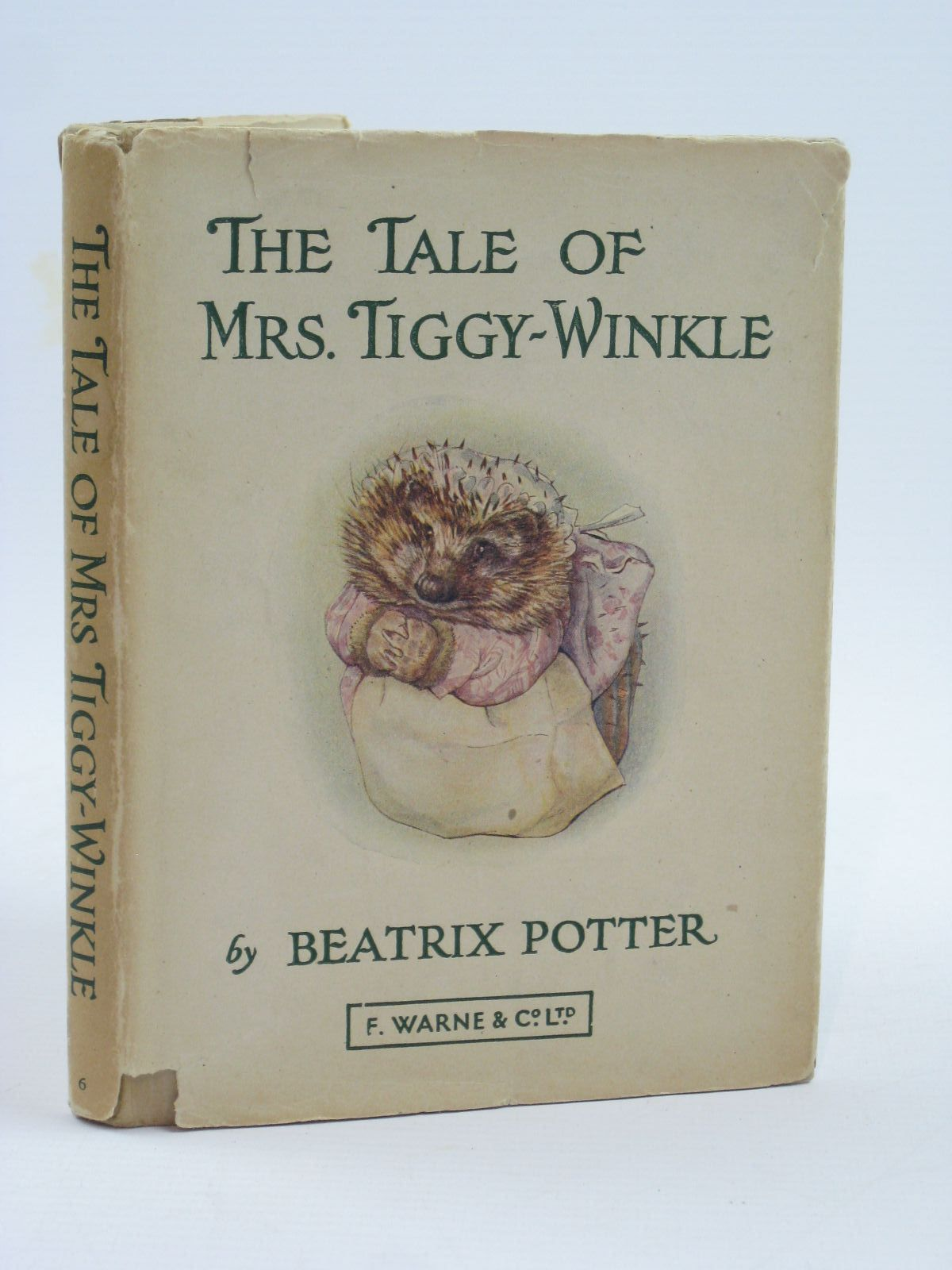 Photo of THE TALE OF MRS. TIGGY-WINKLE written by Potter, Beatrix illustrated by Potter, Beatrix published by Frederick Warne & Co Ltd. (STOCK CODE: 1507131)  for sale by Stella & Rose's Books