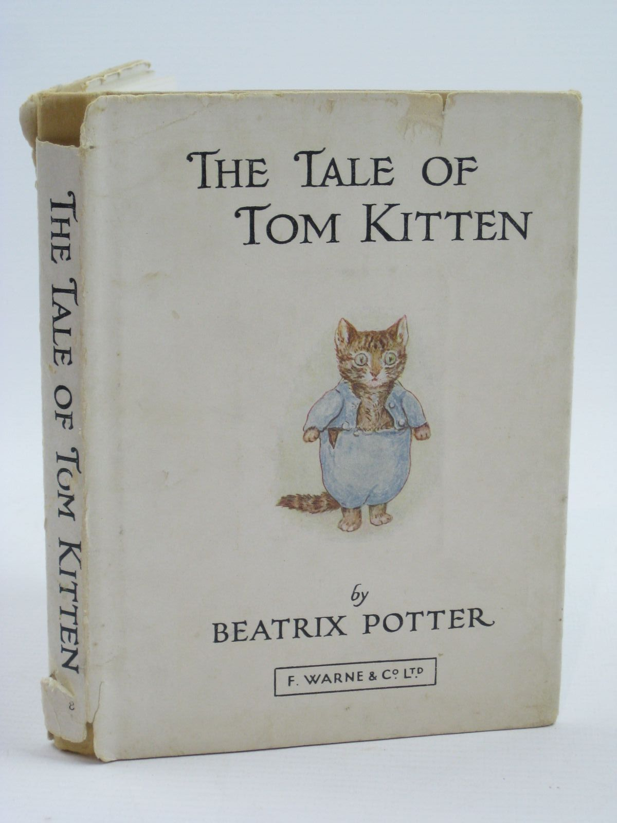 Photo of THE TALE OF TOM KITTEN written by Potter, Beatrix illustrated by Potter, Beatrix published by Frederick Warne & Co Ltd. (STOCK CODE: 1507133)  for sale by Stella & Rose's Books