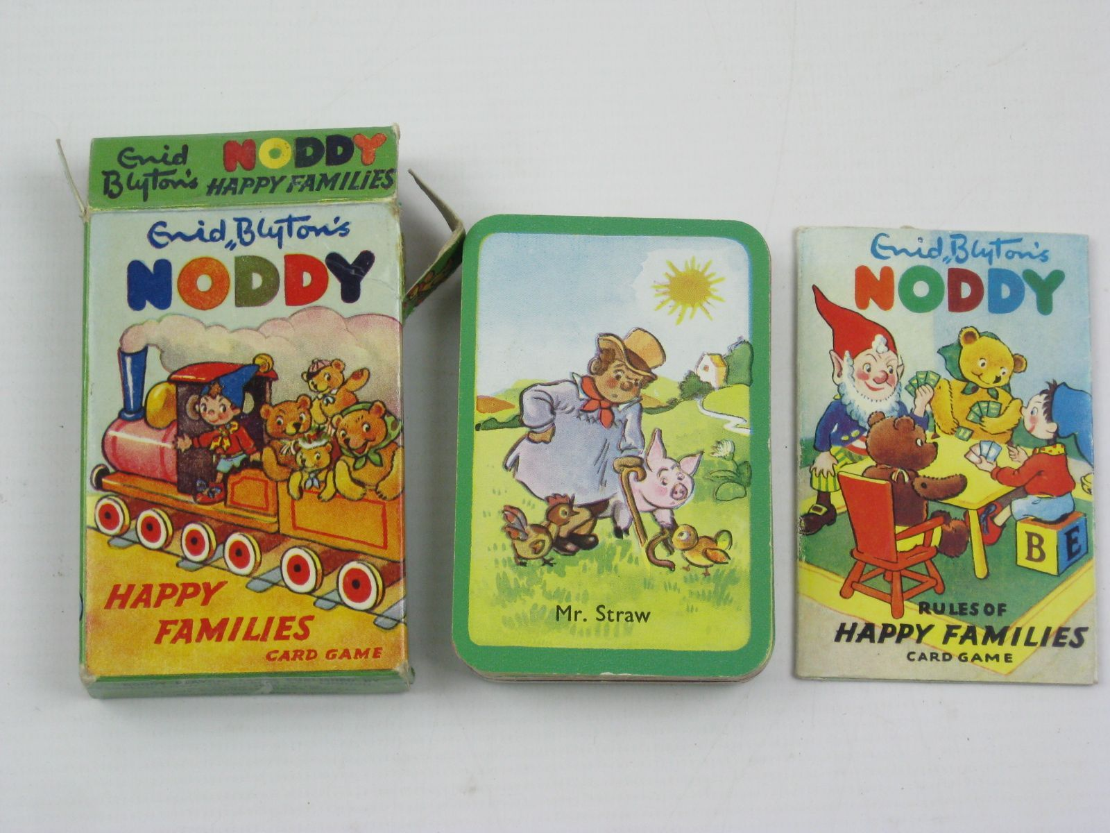Photo of ENID BLYTON'S NODDY HAPPY FAMILIES CARD GAME